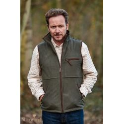 Sherwood Forest Tatton Mens Fleece Gilet