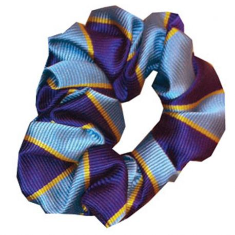 Equetech Junior Pony Club Stripes Hair Scrunchie