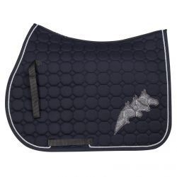 Equiline Octagon Saddle Cloth Crystal