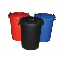 Saddlers Heavy Duty 50 Litre Dustbin And Lid