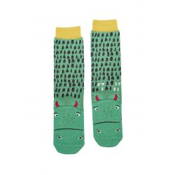Joules Junior Eat Feet Boys Bamboo Socks Dragon