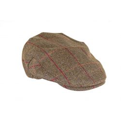 Heather Kinloch Waterproof British Tweed Flat Cap