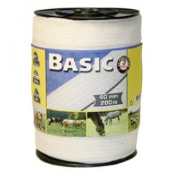 Corral Basic Fencing Tape 200m x 40mm