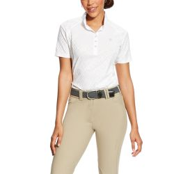 Ariat Showstopper Ladies Show Shirt White