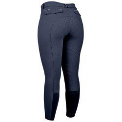 Dublin Corvus Gel Full Seat Ladies Breeches Navy