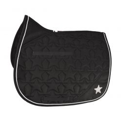 HySPEED Diamante All Purpose Saddle Cloth Black Silver