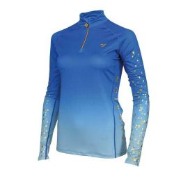 Shires Aubrion Alverstone Ladies Cross Country Shirt Blue