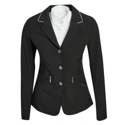 Horseware Embellished Girls Competition Jacket Black