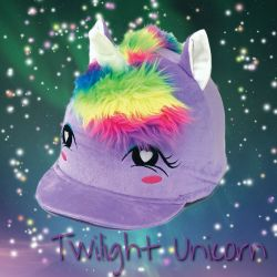 Equetech Twilight Unicorn Hat Silk