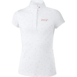 Pikeur Tiana Girls Competition Shirt White Rose Gold