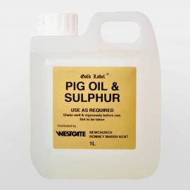 Gold Label Pig Oil and Sulphur