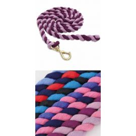 Shires Two Tone Headcoller Leadrope