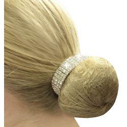 Equetech Crystal Bun Ring Scrunchie