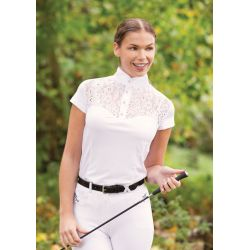 Equetech Florence Lace Competition Shirt