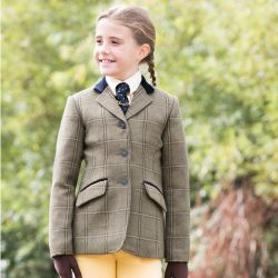 Equetech Junior Stowe Deluxe Tweed Jacket