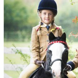 Equetech Junior Wheatley Deluxe Tweed Jacket