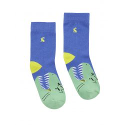 Joules Junior Eat Feet Boys Dino Character Socks