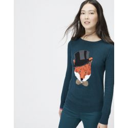 Joules Marsha Ladies Jumper Pine Marl Fox