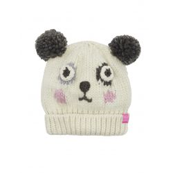 Joules Junior Chum Girls Character Hat Panda