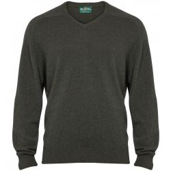 Alan Paine Stratford Long Sleeve Vee Neck Jumper