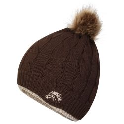 Platinum Saltburn Ladies Cable Knit Hat
