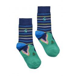 Joules Junior Eat Feet Boys Bamboo Socks Dino