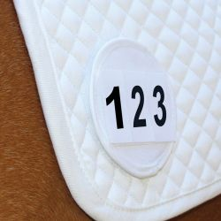 Equetech Saddle Cloth Number Holder