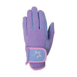 Hy5 Zeddy Three Tone Childrens Riding Gloves