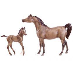 Breyer Classics Grey Sport Horse And Foal
