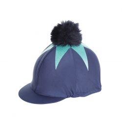 Shires Pom Pom Hat Cover With Big Star