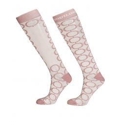 Equiline Boulanger Ladies Knee Socks Pink