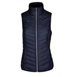 Equiline Jolie Ladies Quilted Vest Blue