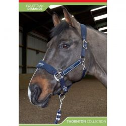John Whitaker Thornton Headcollar And Leadrope Set HC081