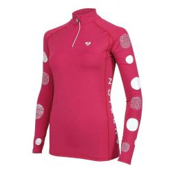 Shires Aubrion Alverstone Maids Cross Country Shirt Pink