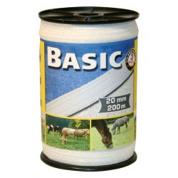 Corral Basic Fencing Tape 200m x 20mm