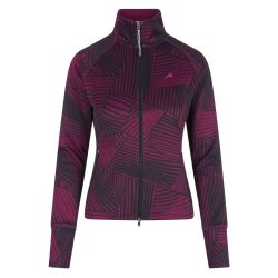 Euro-Star Fabina Ladies Lightweight Jacket Dark Purple