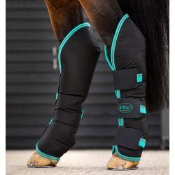 Horseware Amigo Travel Boots Black Teal