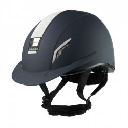John Whitaker VX2 Sparkle Helmet Navy RH038