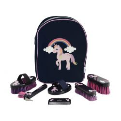 Hy Little Unicorn Complete Grooming Kit Rucksack