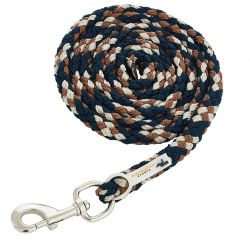 Schockemohle Sports Catch Style Lead Rope Blue Nights Amber