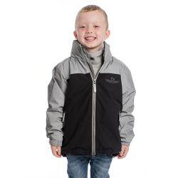 Horseware Kids Reflective Corrib Jacket Reflective Grey