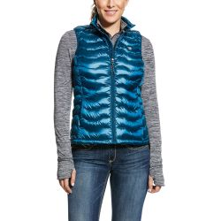 Ariat Ideal Down Vest Ladies Gilet Dream Teal