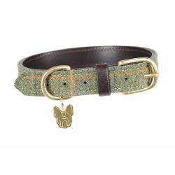 Shires Digby And Fox Tweed Dog Collar