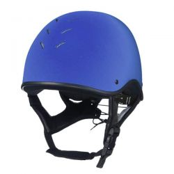Charles Owen JS1 Pro Jockey Skull Benetton Blue