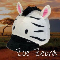 Equetech Zoe Zebra Hat Silk