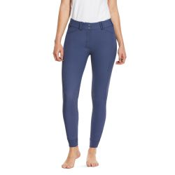 Ariat Tri Factor Grip Knee Patch Breeches Nightshadow Blue