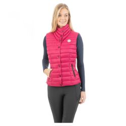 Anky Stepped Ladies Waistcoat Fuschia Red ATC202001