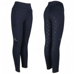 John Whitaker Legend Ladies Riding Tights B174 Navy