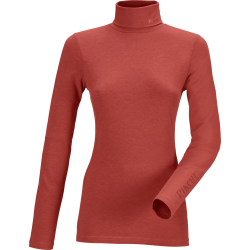 Pikeur Sina Ladies Polo Neck Pullover Saffron Red