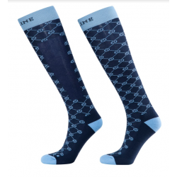Equiline Evolution Socks Blue